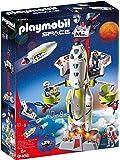 Playmobil 摩比世界 Space 9488 火星任务火箭玩具,带有发射场,适合6岁以上的儿童