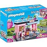 Playmobil 摩比世界 City Life 70015 玩具老地方咖啡馆,适于4岁以上儿童