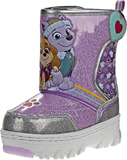 Josmo Paw Patrol 女童雪地靴 带简单绑带封口(幼儿,小童)