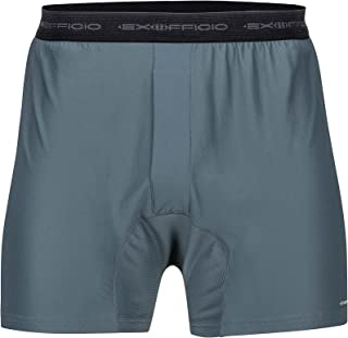 ExOfficio 男式 Give-N-Go 平角短裤,2 条装 中 灰色 mp-613543991720