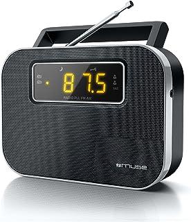 Muse M-081 RW 便携式双频收音机(PLL / FM / MW调谐器)M-081 R