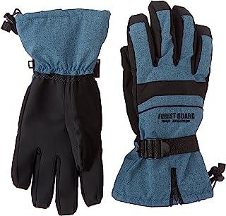 FOREST GUARD 滑雪 雪地手套 自行车 防寒手套 防水 BEC-TEX 新雪板 5指袜 FG-213 迷彩 L