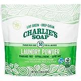 Charlie's Soap 洗衣粉(50 份,1 包)低*性深层清洁洗衣粉洗涤剂 - 环保,*有效