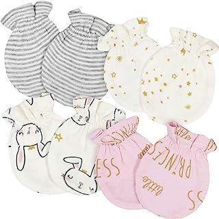 Gerber 男女宝宝通用手套 4 件装