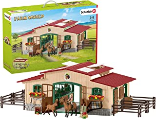 Schleich 赛马配件玩具套装 56.9x 38.1x 14cm