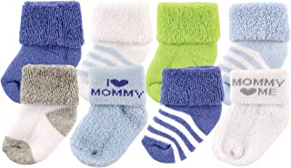Luvable Friends 中性款8件装新生儿袜子