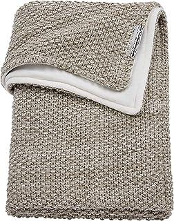Meyco 2754081 婴儿毛毯 冬季舒缓混合粗针织物 100 x 150 厘米 沙色/米色