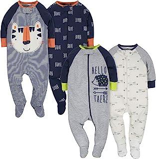 Gerber 男宝宝*和玩耍 4 件套 Tiger/Hedgehog 6-9 Months
