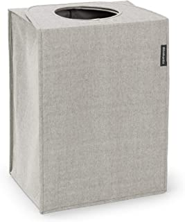 Brabantia 洗衣篮 55 升 矩形 灰色 塑料