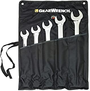 GEARWRENCH 5 件 12 Pt. 组合扳手套装,SAE,长款图案 - 81921