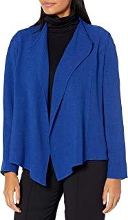 Kasper 女式短款褶皱前夹克