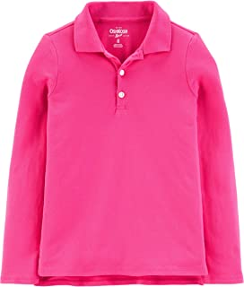 OshKosh B'Gosh 女童幼童长袖制服Polo衫