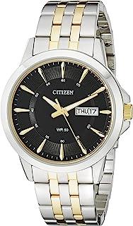 Citizen西铁城男士BF2018-52E双色不锈钢表带手表