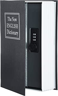 AmazonBasics 亚马逊倍思 Book Safe Lock Box 黑色 大 SW-802C-K