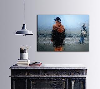 Bonamaison 装饰紫外线印刷画布画,100x70 厘米 - 土耳其制造