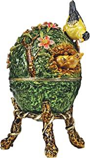 Design Toscano Ruling The Nest Faberge-Style Enameled Egg