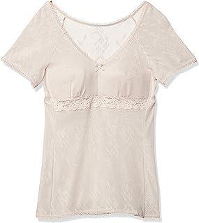 Wacoal 华歌尔 贴身内衣 [*棉 网眼型 ] 带罩杯 V领 3分袖 EL6379 女款