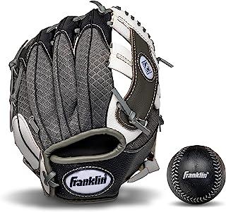 Franklin Sports Teeball 休闲系列防守手套棒球,9.5 英寸