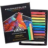 Prismacolor 三福霹雳马 Nupastel 12色水溶性蜡笔粉笔套装 干湿两用 绘画色粉笔粉彩棒