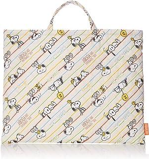 SNOOPY 史努比 绗缝手提包 大 棉质绗缝