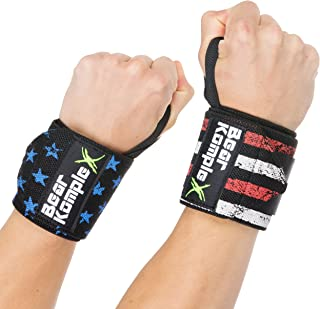 Bear KompleX wrist wraps are great for Cross training, weightlifting, powerlifting, boxing, MMA, exercise, & more. Protect & stabilize your wrists while performing a variety of movements in your WOD