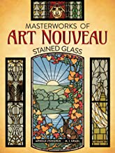 Masterworks of Art Nouveau Stained Glass (English Edition)