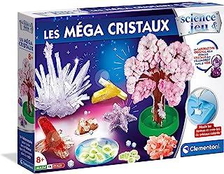 Clementoni- Science Mega Kristalle,科学游戏,法语版,8 岁,52490,多色