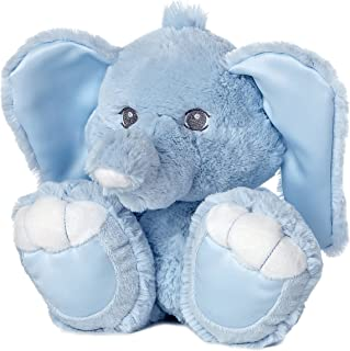aurora world taddle toes baby taddles elephant plush, blue, 10""