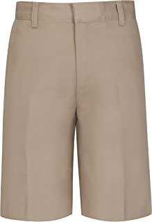 Classroom Big Boys' Uniform Husky Flat Front Short