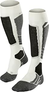 FALKE 女士滑雪袜滑雪袜 SK2 羊毛 - 75% 羊毛 - 尺码 35-42 - 可选。 颜色 - 中等强度填充