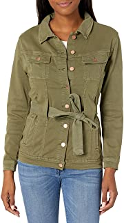Lola Jeans 女士夹克带腰带