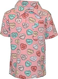 Unique 男婴情人节糖果心形 Polo 衫