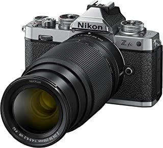 Z fc KIT Z DX 16-50 mm 1:3.5-6.3 VR (SE) + Z DX 50-250 mm 1:4.5-6.3 VR (20.9 MP,OLED 取景器带 2.36 Mill.图像点,每秒 11 帧,混合AF 带聚焦 -...