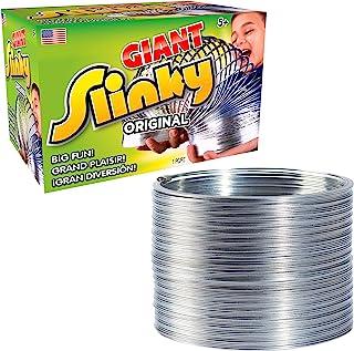 The Original Giant Slinky 步行弹簧玩具,大金属弹簧