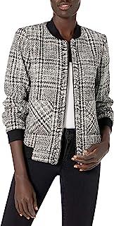 Karl Lagerfeld Paris 女式粗花呢短夹克