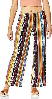 ECI New York 女士多条纹针织套裤