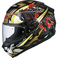 OGK KABUTO(オージーケーカブト) AEROBLADE5 KNIGHT 摩托车头盔 全脸,X-Small