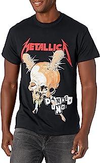 Metallica 男士 Damage Inc. T 恤灰色