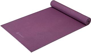 Gaiam 瑜伽垫 - 高级 5 毫米实心厚防滑锻炼和健身垫,适用于各种类型的瑜伽、普拉提和地板锻炼(68 英寸 x 24 英寸 x 5 毫米)