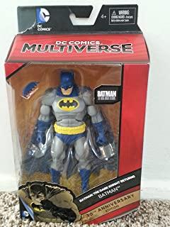 DC Comics Multiverse 蝙蝠侠:黑暗骑士回归 30 周年纪念版,蝙蝠侠可动公仔,7 英寸