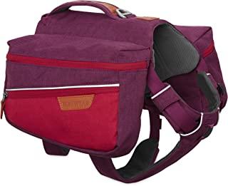 Ruffwear 拉夫威尔狗背包,适合日常使用,尺寸可调节,通勤包 Violett (Larkspur Purple) L/XL