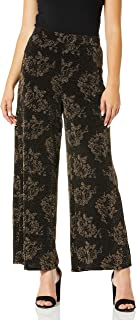 ECI New York 女式花卉针织裤