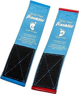 Franklin Sports Gymnastics - 粘性鞋头 - 体操鞋 - 体操训练 - 舞蹈 - 啦啦队 - 体操 - 训练