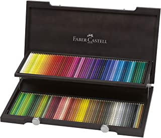 Faber-Castell 辉柏嘉 120 Polychromos 艺术家彩色铅笔 染铁刀木色外壳
