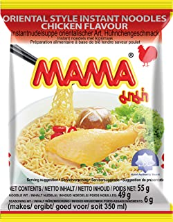 Mama Chicken Instant Noodles, 55 g, Pack of 30