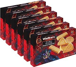 Walkers Shortbread 什锦黄油饼干,250g/盒,6盒装