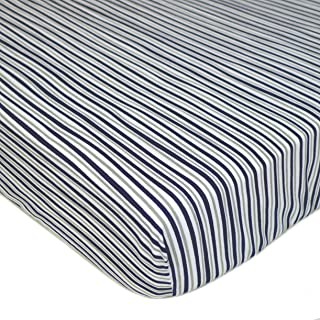 American Baby Company Printed 100% Cotton Jersey Knit Fitted Crib Sheet for Standard Crib and Toddler Mattresses for Boys ...