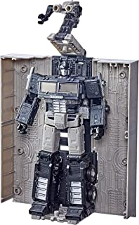 Transformers 变形金刚 塞伯坦的世代战争:地球崛起领袖宇宙擎天柱人物模型,适合8岁及以上儿童,7英寸(亚马逊专属)