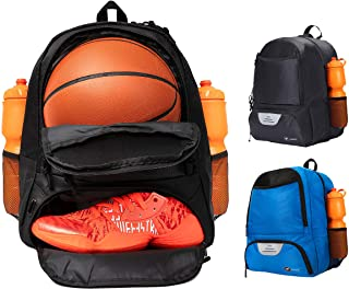 ERANT 篮球背包 带球隔层 – 篮球袋带球架 – 篮球袋背包 – 男孩篮球袋 – 篮球背包