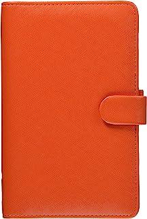 filofax 斐来仕 Saffiano A6 compact 022589 橘色 时间计划 记事本 手帐 拉链包